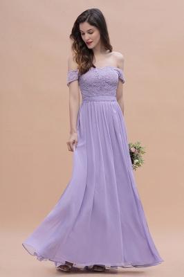 Brautjungfernkleider Lang Lavender | Hochzeitsgäste Partykleider Günstig_10