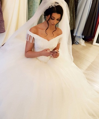 Elegant wedding dresses princess | Wedding dresses with lace_3