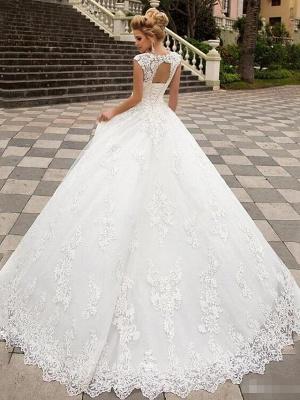 Designer Hochzeitskleider A Linie | Brautmoden Mit Spitze_2