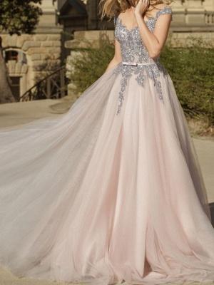 Simple wedding dresses V neckline | Sheath dresses bridal online_1