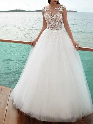 Wunderschöne Brautkleider A Linie | Hochzeitskleid mit Ärmel_2
