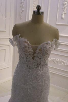 Brautkleider Meerjungfrau Spitze   Hochzeitskleider Günstig Kaufen_4