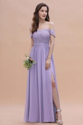 Brautjungfernkleider Lang Lavender | Hochzeitsgäste Partykleider Günstig_4