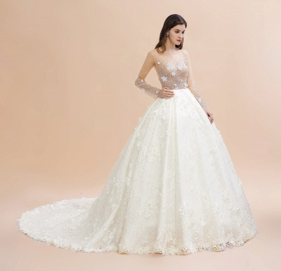 Princess wedding dresses with lace | Buy wedding dresses online_9