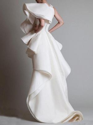 Elegante Brautkleider Günstig | Etuikleider Hochzeitskleider Kurz Vorne Lang Hinter_2
