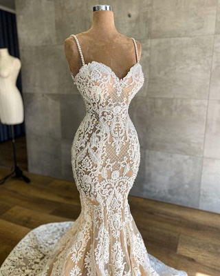 Designer wedding dress mermaid | Wedding dresses with lace_3