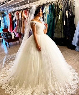 Elegant wedding dresses princess | Wedding dresses with lace_6