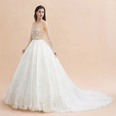 Princess wedding dresses with lace | Buy wedding dresses online_7