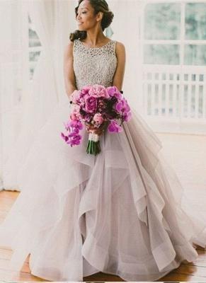 Elegante Brautkleider A linie | Hochzeitskleider V Ausschnitt_2