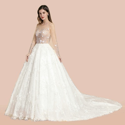Princess wedding dresses with lace | Buy wedding dresses online_4