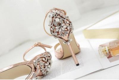 Brautschuhe Gold Kaufen | Schuhe Hochzeit_5
