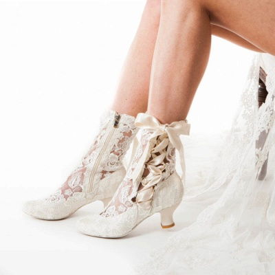 Bridal Shoes Small Heel | Off white shoes_1