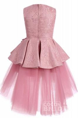 Blumenmädchen Kleid Spitze  | Blumenmädchenkleider Rosa_5