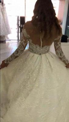 Modern Brautkleid Spitze Online | Luxus Hochzeitskleider Kaufen_3