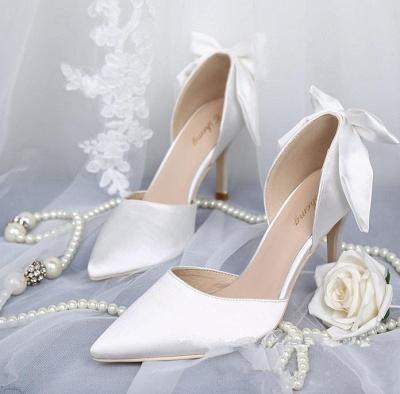 Brautschuhe Offwhite | Cremefarbene Schuhe Hochzeit