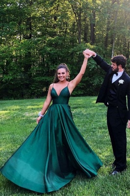 Green Evening Dresses Long | Buy evening wear prom dresses online_1