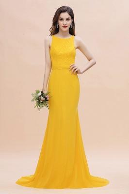 Schöne Brautjungfernkleider Gelb | Günstige Hochzeitspartykleider Online_1