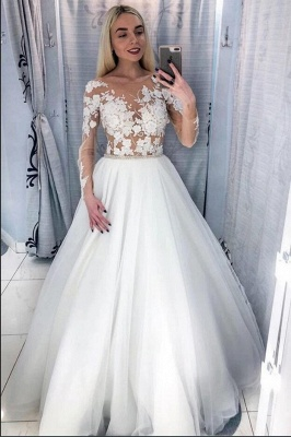 Beautiful wedding dresses with sleeves | Wedding dresses for little women_2