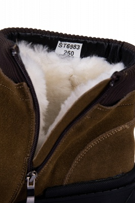 Suede boots combat boots | Winter boots combat boots_8