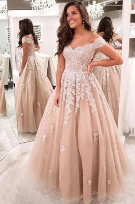Elegante Abendkleider mit Spitze | Abiballkleider Abendmoden Online_2
