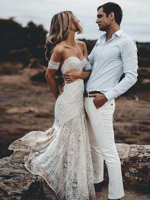 Designer Brautkleider Meerjungfrau | Spitze Hochzeitskleid Günstig Online