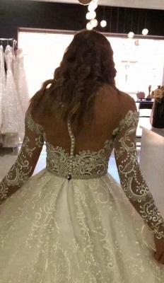 Modern Brautkleid Spitze Online | Luxus Hochzeitskleider Kaufen_4