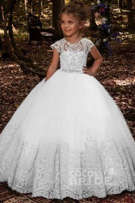 Blumenmädchen Kleider Hochzeit | Blumenmädchen Kleid Spitze_2