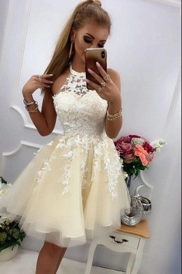 Chic cocktail dresses with lace | Prom dresses party dresses short_2