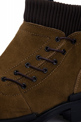 Suede boots combat boots | Winter boots combat boots_4