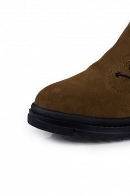 Suede boots combat boots | Winter boots combat boots_3