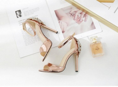 Brautschuhe Gold Kaufen | Schuhe Hochzeit_2