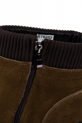 Suede boots combat boots | Winter boots combat boots_7