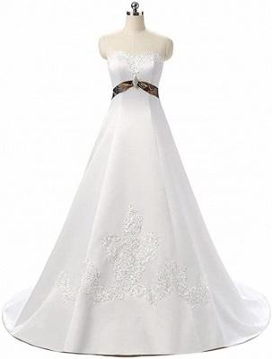 Designer Brautkleid A linie Tarnung | Camouflage Hochzeitskleid Online