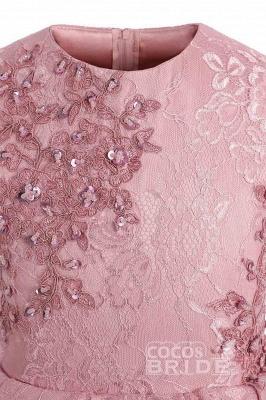 Blumenmädchen Kleid Spitze  | Blumenmädchenkleider Rosa_4