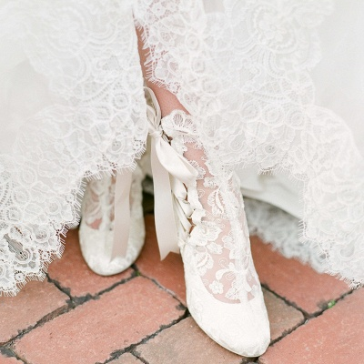 Bridal Shoes Small Heel | Off white shoes_7