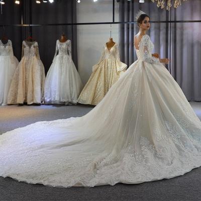 Hochzeitskleid Langarm Umstandsmode | Brautkleider Online Kaufen_4