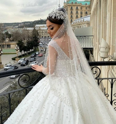 Extravagant wedding dresses princess | Buy Luxury Wedding Dresses_5