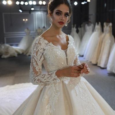 Hochzeitskleid Langarm Umstandsmode | Brautkleider Online Kaufen_6