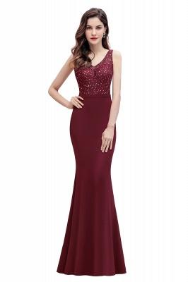 Elegante Abendkleider Lang V Ausschnitt | Abendmoden Online_1