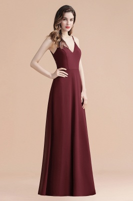 Evening dresses long wine red | Evening wear online_8