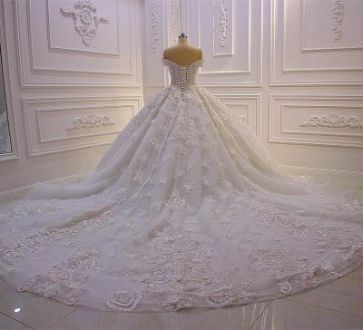 Hochzeitskleider Prinzessin Spitze | Extravagante Brautkleider online_6