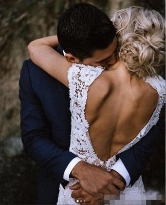 Schlichtes Meerjungfrauen Hochzeitskleid | Brautkleider Online Kaufen_3