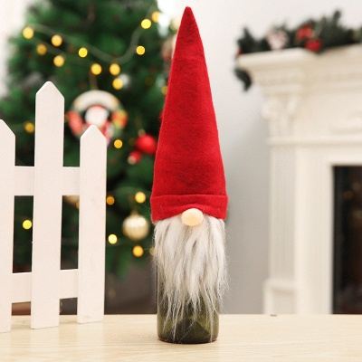 10 pieces Swedish Gnome Scandinavian Tomte Santa Nisse Nordic Plush Elf Toy Table Christmas tree decorations_7