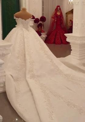Extravagante Brautkleider Prinzessinen | Hochzeitskleider mit Spitze_4