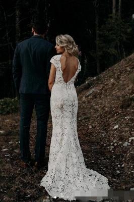 Simple mermaid wedding dress | Buy wedding dresses online_1