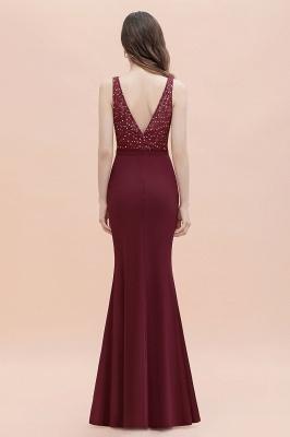 Elegante Abendkleider Lang V Ausschnitt | Abendmoden Online_5