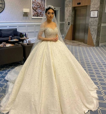 Extravagant wedding dresses princess | Buy Luxury Wedding Dresses_2