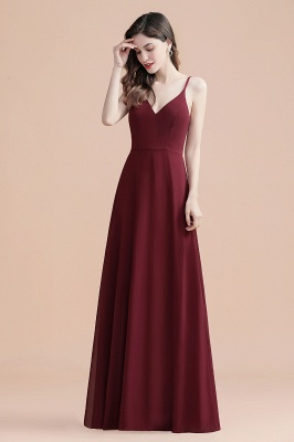 Evening dresses long wine red | Evening wear online_4