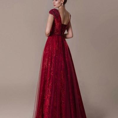 Rote Abendkleider Lang Glitzer | Abendmoden Online Kaufen_4
