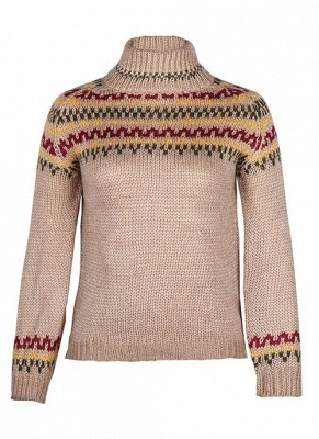 Christmas sweater women | Gray knitted sweater_2